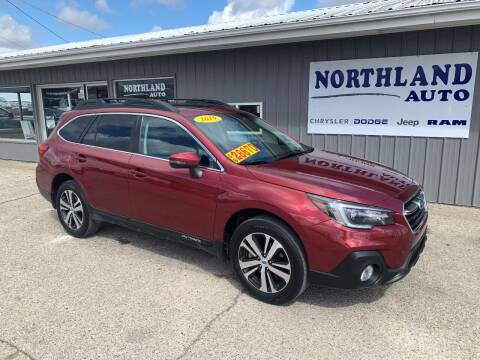 2019 Subaru Outback for sale at Northland Auto in Humboldt IA