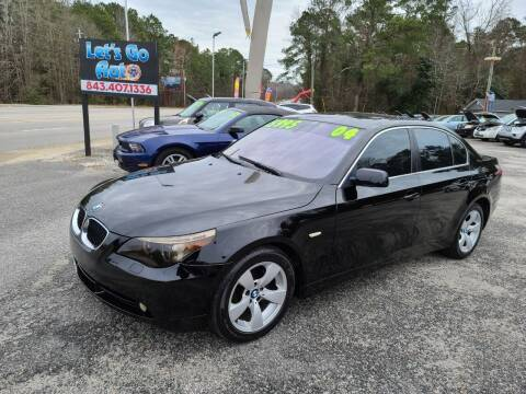 2004 BMW 5 Series for sale at Let's Go Auto in Florence SC