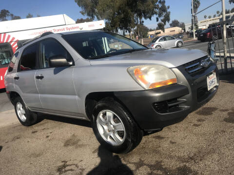 2008 Kia Sportage for sale at Beyer Enterprise in San Ysidro CA