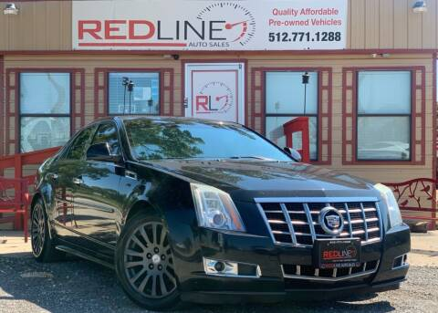 2012 Cadillac CTS for sale at REDLINE AUTO SALES LLC in Cedar Creek TX