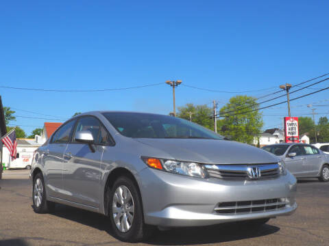 2012 Honda Civic for sale at SWISS AUTO MART in Sugarcreek OH