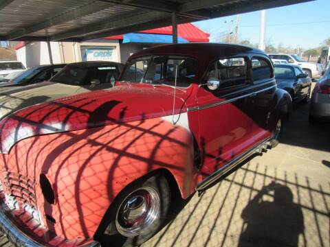 1948 Plymouth Deluxe for sale at FORD'S AUTO SALES in Houston TX