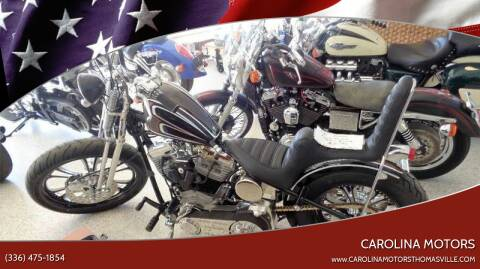 1981 Harley-Davidson KUSTOM for sale at CAROLINA MOTORS in Thomasville NC
