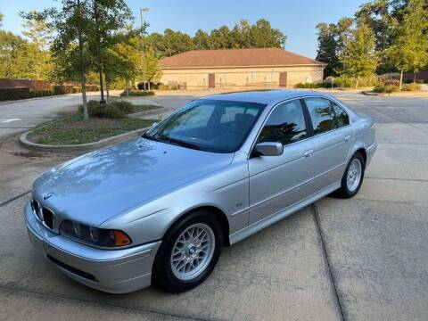 2002 BMW 5 Series for sale at Two Brothers Auto Sales in Loganville GA
