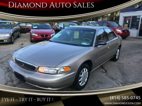 2001 Buick Century for sale at Diamond Auto Sales in Milwaukee WI