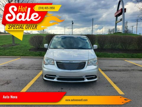 2012 Chrysler Town and Country for sale at Auto Nova in St Louis MO