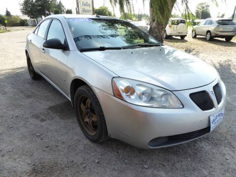 2008 Pontiac G6 for sale at VALLEY MOTORS in Kalispell MT
