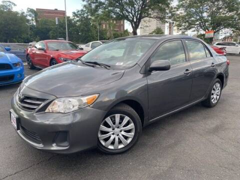 2013 Toyota Corolla for sale at Sonias Auto Sales in Worcester MA