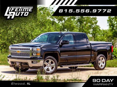 2015 Chevrolet Silverado 1500 for sale at Lifetime Auto in Elwood IL