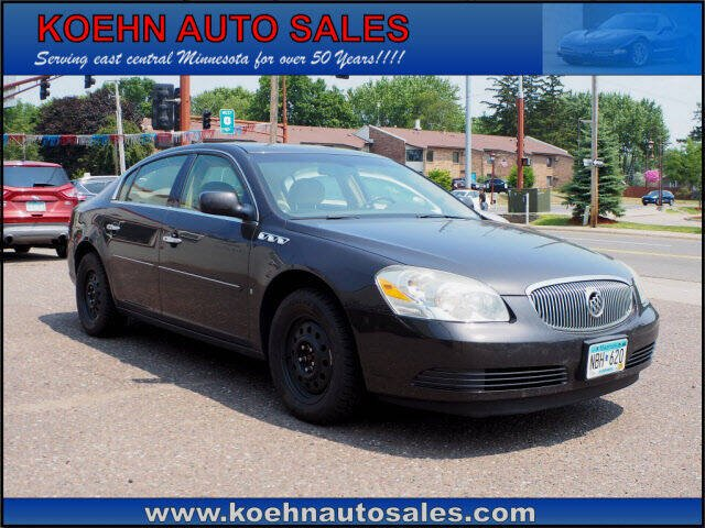 2008 Buick Lucerne for sale at Koehn Auto Sales in Lindstrom MN