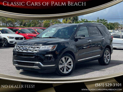 2018 Ford Explorer for sale at Classic Cars of Palm Beach in Jupiter FL