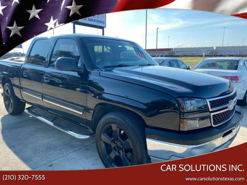 2007 Chevrolet Silverado 1500 Classic for sale at Car Solutions Inc. in San Antonio TX