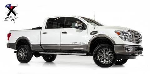 2016 Nissan Titan XD for sale at TX Auto Group in Houston TX