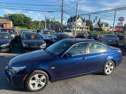 2008 BMW 5 Series for sale at Masic Motors, Inc. in Harrisburg PA