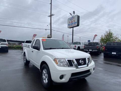 2013 Nissan Frontier for sale at S&S Best Auto Sales LLC in Auburn WA