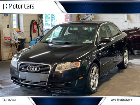 2007 Audi A4 for sale at JK Motor Cars in Pittsburgh PA
