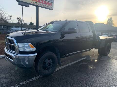 2012 RAM Ram Pickup 3500 for sale at South Commercial Auto Sales in Salem OR