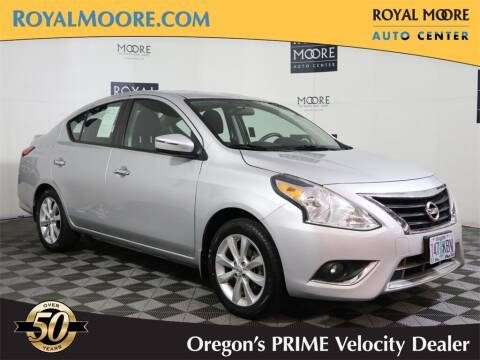 2015 Nissan Versa for sale at Royal Moore Custom Finance in Hillsboro OR