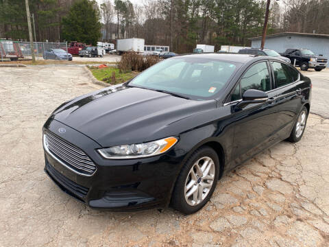 2016 Ford Fusion for sale at Elite Motor Brokers in Austell GA