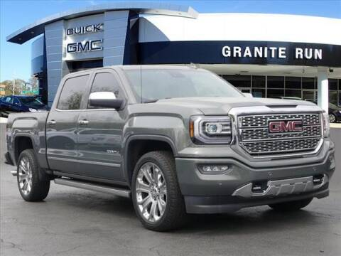 2018 GMC Sierra 1500 for sale at GRANITE RUN PRE OWNED CAR AND TRUCK OUTLET in Media PA