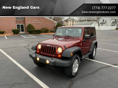 2010 Jeep Wrangler for sale at New England Cars in Attleboro MA