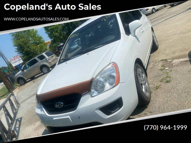 2009 Kia Rondo for sale at Copeland's Auto Sales in Union City GA