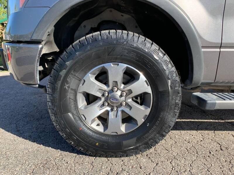 2013 Ford F-150 4x4 FX4 4dr SuperCrew Styleside 5.5 ft. SB - Stilwell KS