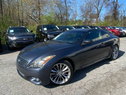 2011 Infiniti G37 Coupe for sale at Car Online in Roswell GA