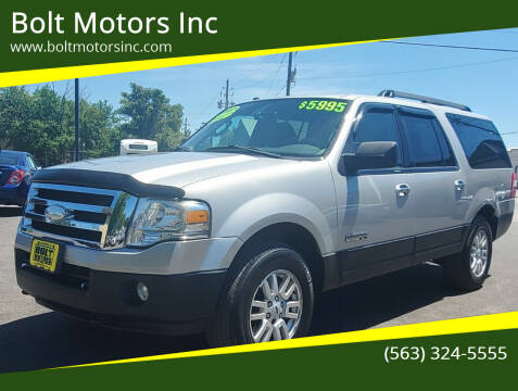 2007 Ford Expedition EL for sale at Bolt Motors Inc in Davenport IA