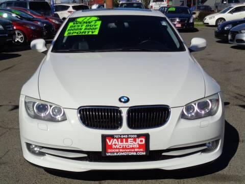 2011 BMW 3 Series for sale at Vallejo Motors in Vallejo CA