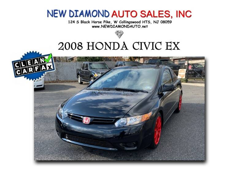2008 Honda Civic for sale at New Diamond Auto Sales, INC in West Collingswood NJ