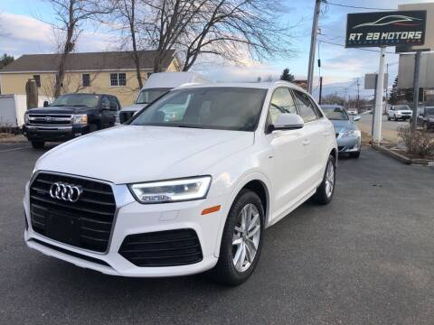 2018 Audi Q3 for sale at RT28 Motors in North Reading MA