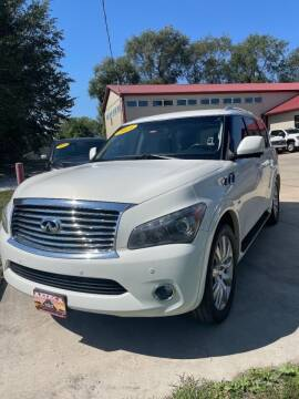 2014 Infiniti QX80 for sale at Azteca Auto Sales LLC in Des Moines IA