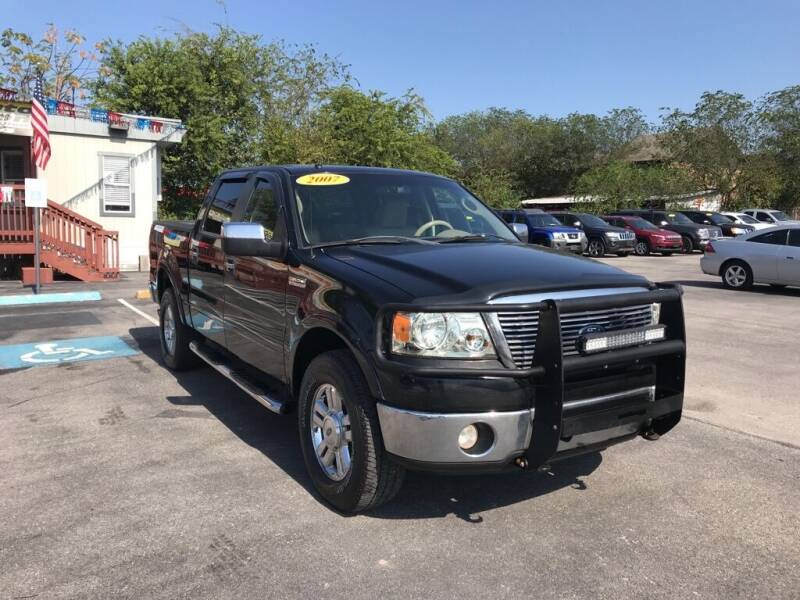 2007 Ford F-150 for sale at Auto Solution in San Antonio TX