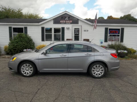 2014 Chrysler 200 for sale at R & L AUTO SALES in Mattawan MI