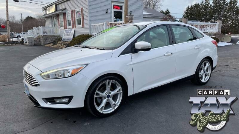 2015 Ford Focus for sale at RBT Automotive LLC in Perry OH