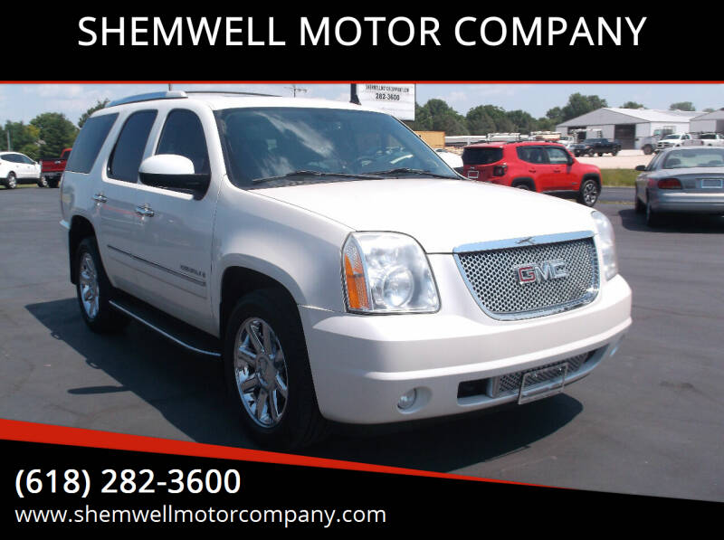 2009 GMC Yukon for sale at SHEMWELL MOTOR COMPANY in Red Bud IL