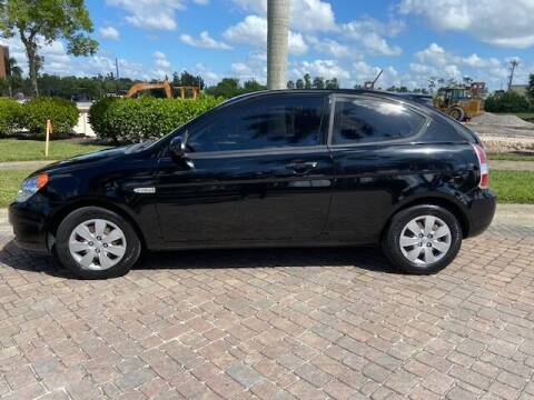 2008 Hyundai Accent for sale at World Champions Auto Inc in Cape Coral FL