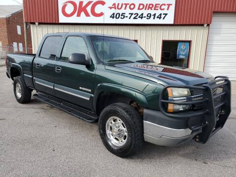 2003 Chevrolet Silverado 2500HD for sale at OKC Auto Direct in Oklahoma City OK
