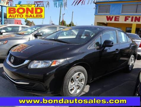 2013 Honda Civic for sale at Bond Auto Sales in St Petersburg FL