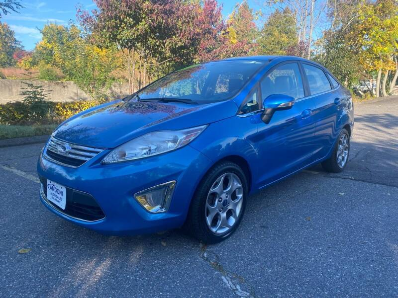 2012 Ford Fiesta for sale at ANDONI AUTO SALES in Worcester MA