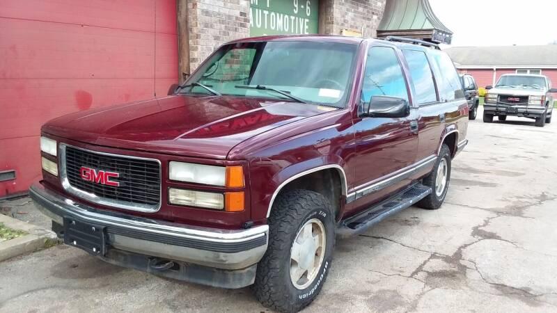 1998 GMC Yukon for sale at Fraziers Sturtevant Motors in Sturtevant WI