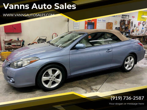 2008 Toyota Camry Solara for sale at Vanns Auto Sales in Goldsboro NC