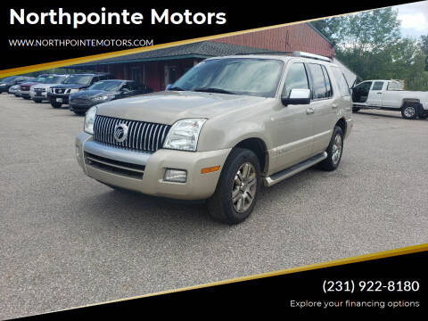 2007 Mercury Mountaineer for sale at Northpointe Motors in Kalkaska MI