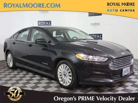 2015 Ford Fusion Hybrid for sale at Royal Moore Custom Finance in Hillsboro OR