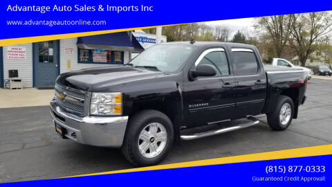 2013 Chevrolet Silverado 1500 for sale at Advantage Auto Sales & Imports Inc in Loves Park IL
