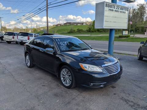 2011 Chrysler 200 for sale at Route 22 Autos in Zanesville OH