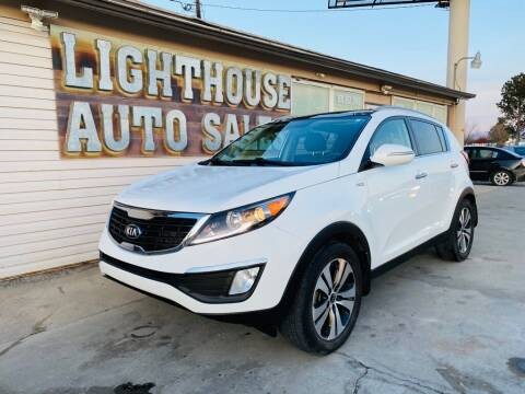 2013 Kia Sportage for sale at Lighthouse Auto Sales LLC in Grand Junction CO