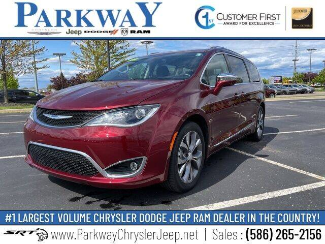 2018 Chrysler Pacifica for sale in Clinton Township, MI