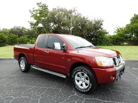 2004 Nissan Titan for sale at SUPER DEAL MOTORS 441 in Hollywood FL